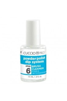 Cuccio Pro - Powder Polish Dip System - Step 6: Brush Cleaner - 0.5oz / 14ml