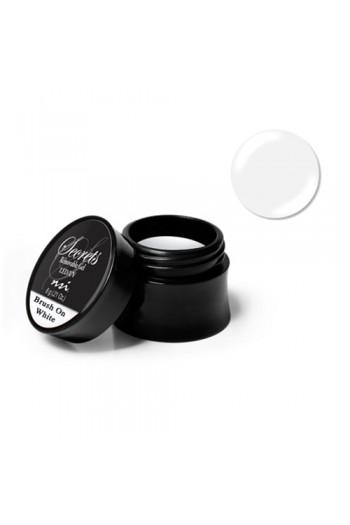 NSI Secrets - Removable Gel - LED/UV Brush On White - 0.21oz / 6g