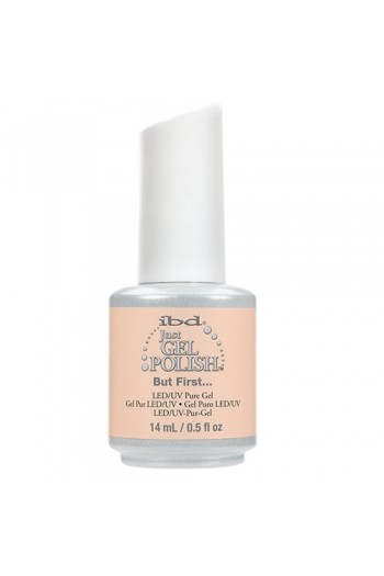 ibd Just Gel Polish - Nude 2017 Collection - But First - 14ml / 0.5oz