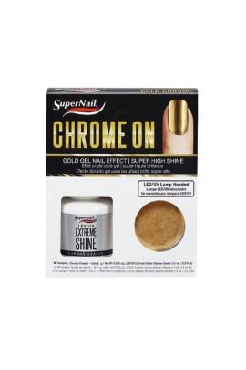 SuperNail - Chrome On - Gold Gel Nail Effect Kit