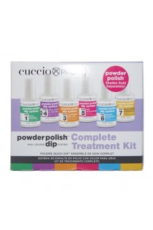 Cuccio Pro - Powder Polish Dip System - Complete Treatment Kit - 0.5oz / 14ml Each