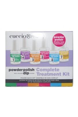 Cuccio Pro - Powder Polish Dip System - Complete Treatment Kit - 0.5oz / 14ml Each