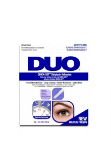 DUO Quick Set Adhesive - Clear - 5g / 0.18 oz