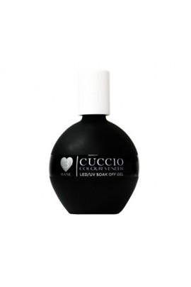 Cuccio Colour Veneer - LED/UV Soak Off Gel - #3 Easy Base Coat Treatment - Fast Soak - 2.5oz / 75ml
