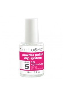 Cuccio Pro - Powder Polish Dip System - Step 5: Gel Activator - 0.5oz / 14ml