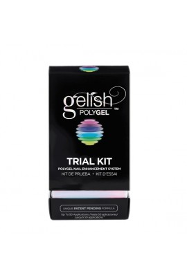 Nail Harmony Gelish - PolyGel - Trial Kit W/ Multi-purpose Tool