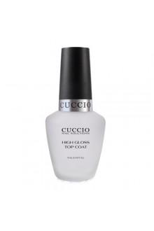 Cuccio Nail Treatments - High Gloss Top Coat - 0.43oz / 13ml