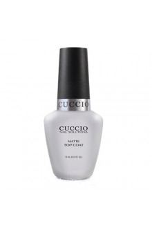 Cuccio Nail Treatments - Matte Top Coat - 0.43oz / 13ml
