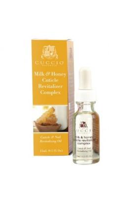 Cuccio Cuticle Revitalizer Complex - Milk & Honey - 0.5oz / 15ml