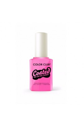 Color Club Coated One Coat Nail Lacquer - Modern Pink - 0.5oz / 15ml