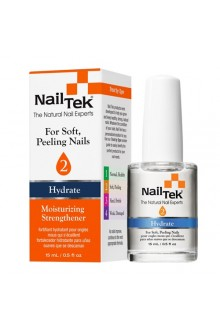 Nail Tek Hydrate - Moisturizing Strengthener II - 0.5oz / 15ml