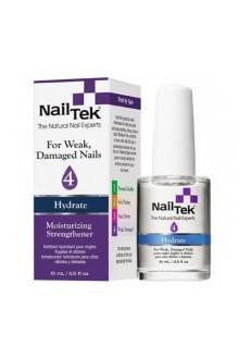 Nail Tek Hydrate - Moisturizing Strengthener IV - 0.5oz / 15ml