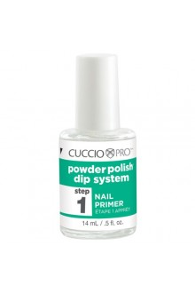 Cuccio Pro - Powder Polish Dip System - Step 1: Nail Primer - 0.5oz / 14ml
