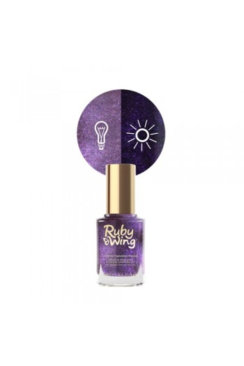 Ruby Wing - Color Changing Nail Lacquer - Naughtical by Nature - 0.5oz / 15ml