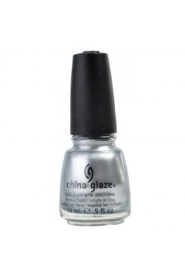 China Glaze Nail Polish - Platinum Silver - 0.5oz / 14ml