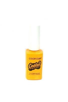 Color Club Coated One Coat Nail Lacquer - Psychedelic Scene - 0.5oz / 15ml