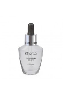 Cuccio Nail Treatments - Quick Dry Drops - 0.43oz / 13ml