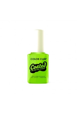 Color Club Coated One Coat Nail Lacquer - We Liming - 0.5oz / 15ml