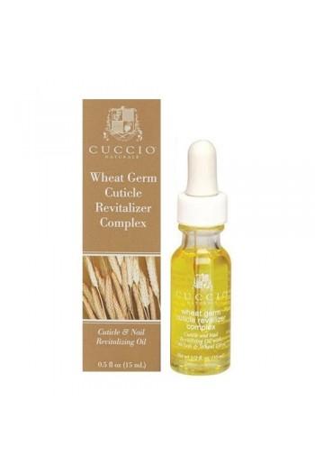 Cuccio Cuticle Revitalizer Complex - Wheat Germ - 0.5oz / 15ml