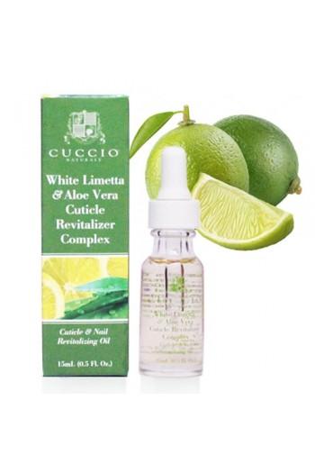 Cuccio Cuticle Revitalizer Complex - White Limetta & Aloe Vera - 0.5oz / 15ml