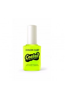 Color Club Coated One Coat Nail Lacquer - Yellin' Yellow - 0.5oz / 15ml
