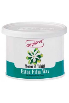 Depileve Monoi of Tahiti Extra Film Wax - 14oz / 400g