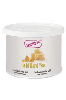 Depileve European Gold Hard Wax - 14oz / 400g