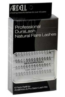Ardell Natural Lashes Pack - Knot-Free Individuals - SHort Black