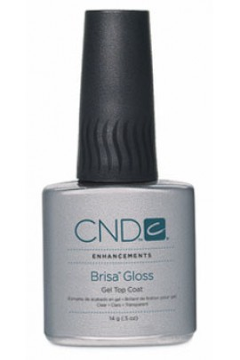 CND Brisa Gloss - Gel Top Coat - 0.5oz / 14g