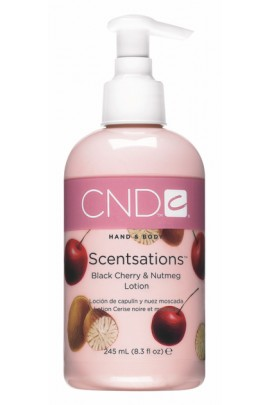 CND Scentsations - Black Cherry & Nutmeg Lotion - 8.3oz / 245ml