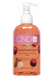 CND Scentsations - Black Cherry & Nutmeg Wash - 8.3oz / 245ml
