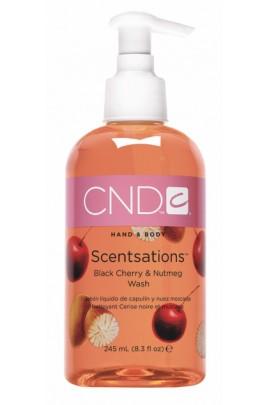 CND Scentsations - Black Cherry & Nutmeg Wash - 8.3oz / 245ml
