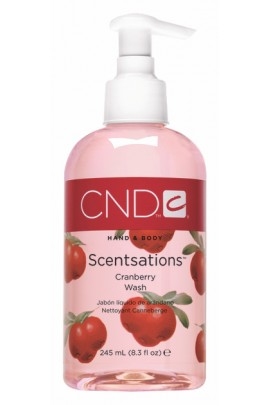 CND Scentsations - CranBerry Wash - 8.3oz / 245ml