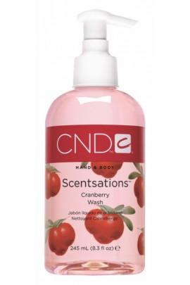 CND Scentsations - CranBerry Wash - 8.3oz / 245ml