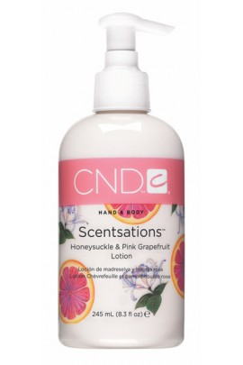 CND Scentsations - Honeysuckle & Pink Grapefruit Lotion - 8.3oz / 245ml