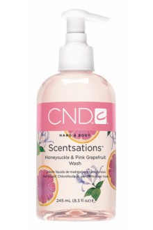 CND Scentsations - Honeysuckle & Pink Grapefruit Wash - 8.3oz / 245ml
