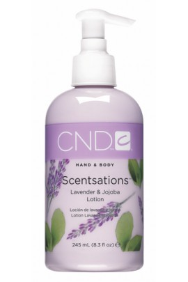 CND Scentsations - Lavender & Jojoba Lotion - 8.3oz / 245ml