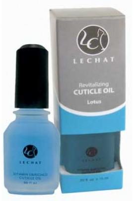 LeChat Cuticle Oil: Lotus - 0.5oz / 15ml