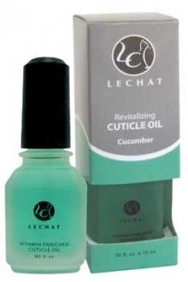 LeChat Cuticle Oil: Cucumber - 0.5oz / 15ml