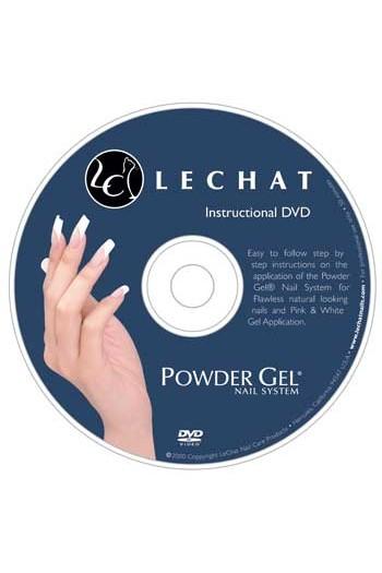 LeChat Powder Gel Nail System Instructional DVD