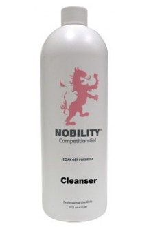 LeChat Nobility Soak Off Gel Cleanser - 32oz / 946ml (U.S. Shipping Only)