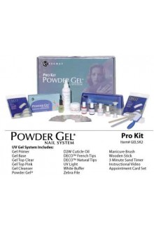 LeChat Powder Gel Pro Kit: 110V UV Light