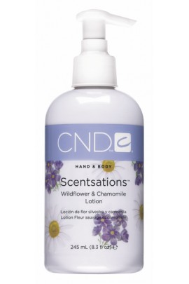 CND Scentsations - Wildflower & Chamomile Lotion - 8.3oz / 245ml