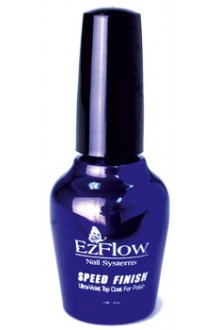 EzFlow Speed Finish UV Top Coat - 0.5oz / 14ml