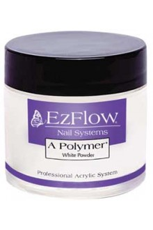 EzFlow A Polymer Powder: White - 8oz / 226g