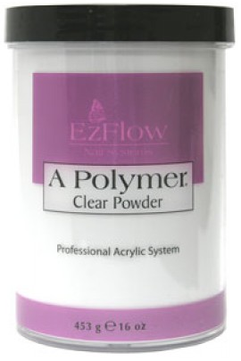 EzFlow A Polymer Powder: Clear - 16oz / 453g