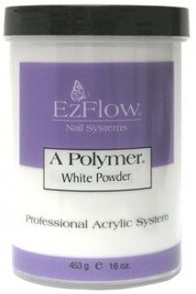 EzFlow A Polymer Powder: White - 16oz / 453g