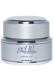 EzFlow Gel It! - White It! - 0.5oz / 14g