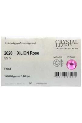 Swarovski 2028 Rhinestones: Rose - 1440ct