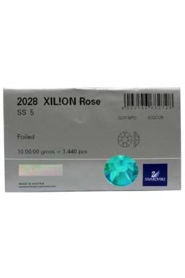 Swarovski 2028 Rhinestones: Blue Zircon - 1440ct